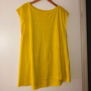 Eileen Fisher Size S Yellow Top💛